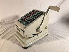 Vintage Paymaster Check Writing Machine Series 700