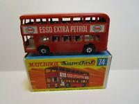 VINTAGE  MATCHBOX SUPERFAST NO.74 DAIMLER BUS ***NEW IN BOX***