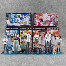 Bleach Anime Set of 8 Figures Boxed Ichigo Rukia PVC Figure Action Figures Toy