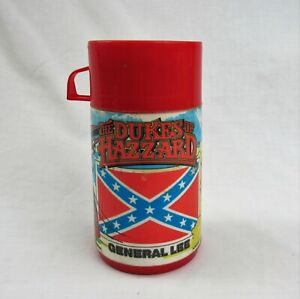 vintage Dukes of Hazzard lunchbox thermos Aladdin red cup 1980
