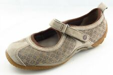 Merrell Size 5.5 M Brown Mary Jane Leather Women Shoes