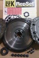 COMPLETE SMF FLYWHEEL AND LUK CLUTCH KIT PACK WITH BOLTS AUDI A2 1.4 TDI