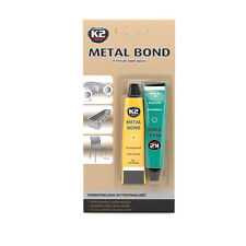 K2 Metal Bond Strong Cold Weld Two Component Adhesive Epoxy Glue Clear All Metal