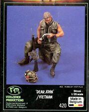 Verlinden 1:35 54mm Dear John Vietnam Resin Figure Kit #420