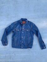 Levi Strauss Denim Jacket Blue Size Small Jean Jacket