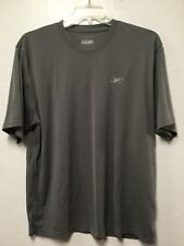 Reebok Moisture Management Athletic Shirt Cross Fit Size Xl Gray New Y5