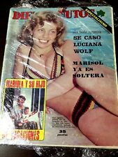 Magazine ten minutes... case luciana wold, marisol is unmarried...