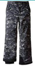 Spyder Vixen Ski Pants Youth Girls Size 8 Kid Snow Sequin Print Thinsulate NEW