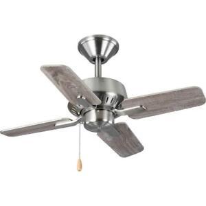 Progress Lighting Drift 32 in. 4-Blade Brushed Nickel Ceiling Fan P250008-009