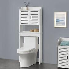 Toilettenschrank Badezimmerschrank Überbauschrank Badschrank Schrank Regal Weiß