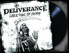 DELIVERANCE-GREETING OF DEATH (*Black VINYL, 2019, Retroactive) Xian Metal Demo