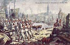 Z930) WW1, BELGIO, ANVERSA OCCUPATA DAI TEDESCHI.