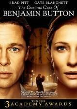 The Curious Case of Benjamin Button (DVD, 2009, )
