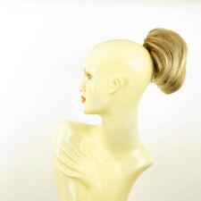 Postiche queue de cheval femme blond clair cuivré méché blond clair 2 en 27t613