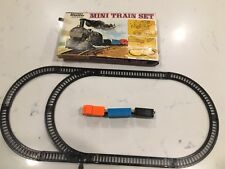 "Vintage Battery Operated Plastic Mini ""Western Train Set"" Toy"