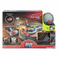 Disney Pixar Cars Mini Racers Crank and Crash Derby Playset