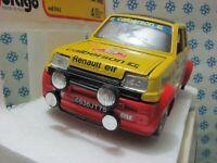 Vintage -  RENAULT 5 Alpine Rally MonteCarlo  - 1/24 bburago 0162 - MIB