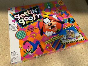 Disney Gettin' Goofy Board Game by Milton Bradley MB 1992 4320