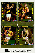 2011 AFL Teamcoach Trading Cards Gold Parallel Team Set Richmond (11)