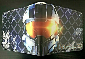 HALO Master Chief Wallet Purse ID Mens Kids Gaming PC FPS Spartan II Elite AUS