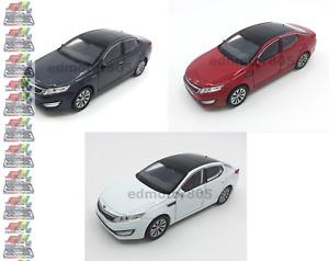 KIA Optima K5 1:34-1:39 DIECAST Car White / Grey/ Red Model COLLECTION New