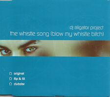 DJ ALIGATOR PROJECT Whistle Song 4 TRX MIXES & EDIT CD single SEALED USA seller