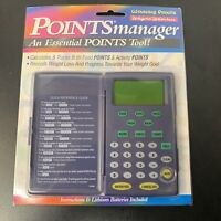 Weight Watchers Points Manager 2000 Sealed New Food Activity Calculator