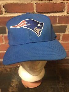 Vintage NFL New England Patriots Strap Baseball Cap Hat