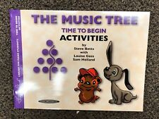 The Music Tree Time to Begin Activities (Paperback or Softback)