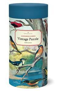 Cavallini - Vintage Jigsaw Puzzle - 1000 Pieces - 55x70cms - Audubon Birds