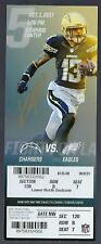 2017 NFL PHILADELPHIA EAGLES @ CHARGERS FULL FOOTBALL TICKET - SUPER BOWL 52