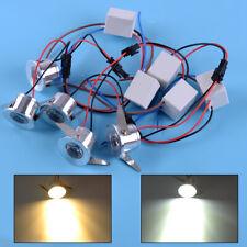 5x 3W LED Recessed Cabinet Ceiling Downlight Mini Spot Light Lamp Driver Fixture