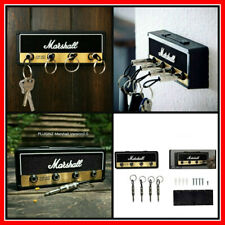 Marshall JCM800 Guitar Amp Key Holder Jack 4 Plug Keychains Wall Hanging Storage