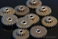 10 Doppelzahnräder Ritzel, Zahnrad Modul 0,5 Antrieb 30 13 Doppel Metall Servo