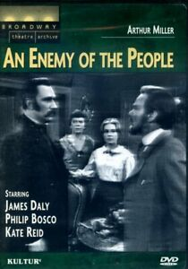 An Enemy Of The People - Arthur Miller (DVD, 1966) - R1 - Brand New - FAST POST