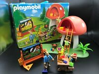 Playmobil 4455 Easter Bunny School Playset Set New NIB Sealed Retired Treehouse