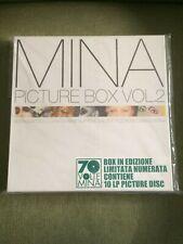 70 VOLTE MINA PICTURE DISC BOX VOL. 2 - COFANETTO 10 LP NUOVO SIGILLATO LIMITED