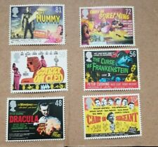 Mint Set Gb Stamps Carry On & Hammer House of Horror U/M 6 Stamps in Set 2008