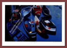 Sunday Morning Boats by Zora Buchanan