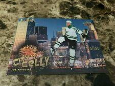 2020-21 Upper Deck Allure City Celly #14 JOE PAVELSKI Stars