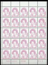 1497 Beatrix 1991 1,60 minivelletje 25sts etsingnummer M11