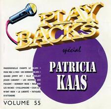 CD audio.../...PATRICIA KAAS.../...PLAY BACKS.../...KARAOKE...
