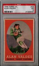 1958 Topps CFL Alan Valdes #19 PSA 3 P263