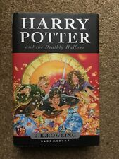 Harry Potter And The Deathly Hallows First Edition 1st Print