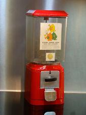 Original Kaugummiautomat, Nußautomat aus den 60er Jahren - 50 Cent - Metall