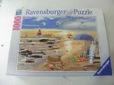 RAVENSBURGER 1000 PIECE PUZZLE READY FOR SUMMER BEACH SCENES #19 527 5 COMPLETE