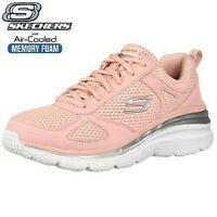 Womens Skechers Fashion Fit Memory Foam Walking Sports GYM Trainers Shoes Size