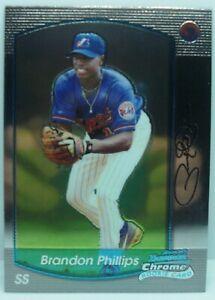 Brandon Phillips 2000 bowman chrome rookie RC baseball card #347