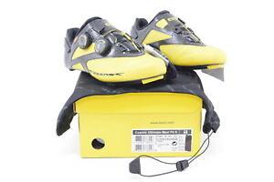 New! Mavic Cosmic Ultimate II Maxi Fit Cycling Shoe 6.5 US, 39-1/3 EU Yellow