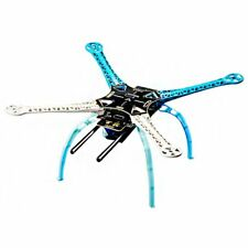 S500 PCB Carbon Fiber 4-Axis Frame Kit Blue&White with Tall Landing Gear Sk H8Y6